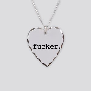 fucker. Necklace Heart Charm