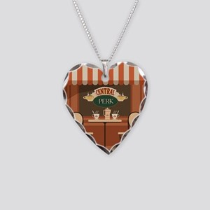 Friends Necklace Heart Charm