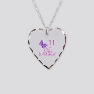 Fabulous 11th Birthday For Girls Necklace Heart Ch