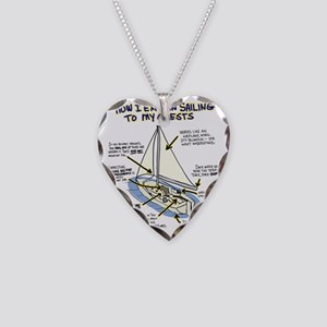 Sailboat_guest Necklace Heart Charm