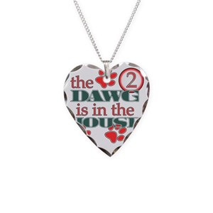 thedawg Necklace Heart Charm