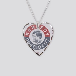 kennedypresident1960 copy Necklace Heart Charm