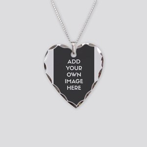 Add Your Own Image Necklace Heart Charm