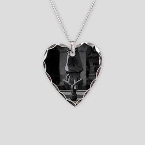 Shaolin Master Necklace Heart Charm