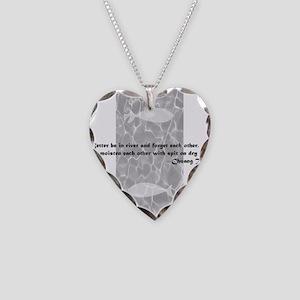 D0002_fish_en Necklace Heart Charm