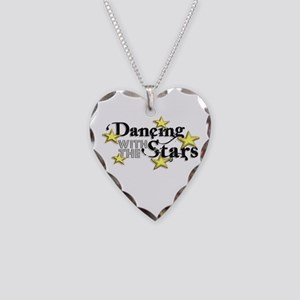 Dancing with the Stars Necklace Heart Charm