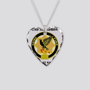 2-1 CAV RGT WITH TEXT Necklace Heart Charm