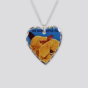 snoopy-the-nosey-little-puppy Necklace Heart Charm