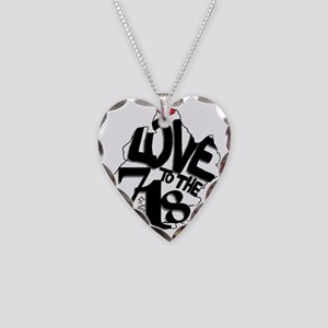 Love to the 718 (Brooklyn) Necklace Heart Charm