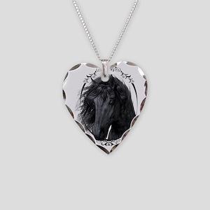 black_horse_freigestellt Necklace Heart Charm