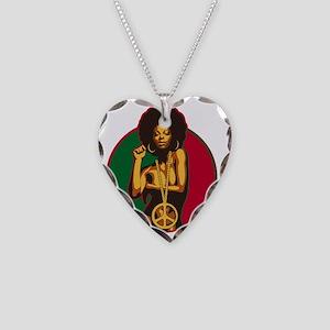 powertothepeople Necklace Heart Charm