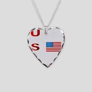 FLAG2RED Necklace Heart Charm