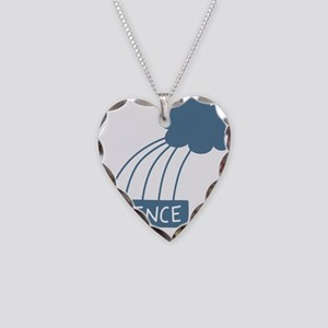 ScienceIsAwesome_dark Necklace Heart Charm