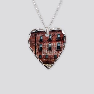 Coca-Cola Ghost Sign Necklace Heart Charm