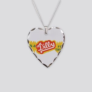 Dilly Soda 4 Necklace Heart Charm