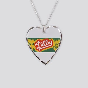 Dilly Soda 3 Necklace Heart Charm
