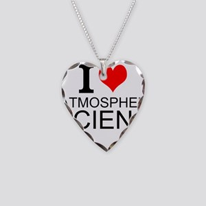 I Love Atmospheric Science Necklace