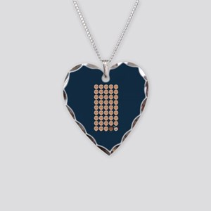 Emoji 45th President Necklace Heart Charm