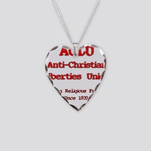 anti-christian Necklace Heart Charm