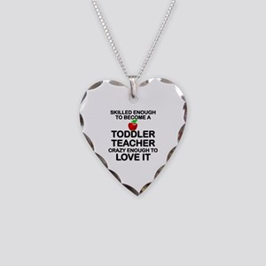 TODDLER TEACHER Necklace Heart Charm