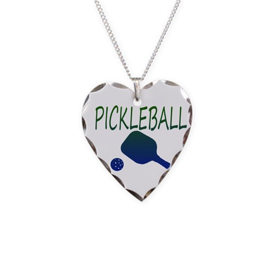 Pickleball with ball and paddle sport