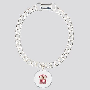 Introverts Unite Charm Bracelet, One Charm