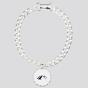 Mountains Charm Bracelet, One Charm