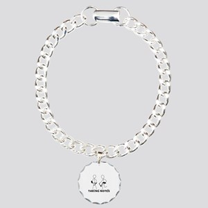 TAKING NOTES - MUSIC Charm Bracelet, One Charm
