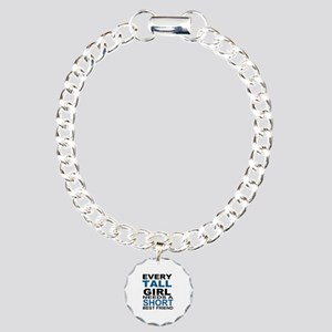 EVERY TALL GIRLS NEEDS A Charm Bracelet, One Charm