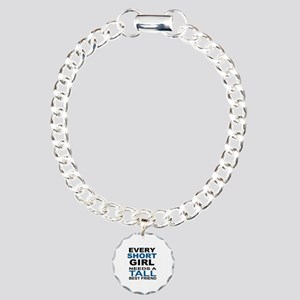 EVERY SHORT GIRLS NEEDS  Charm Bracelet, One Charm