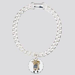 Funny Goats - Totes MaGoats Charm Bracelet, One Ch