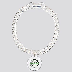 Runner in the Maze Charm Bracelet, One Charm