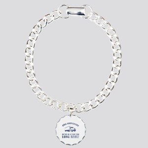 40th Anniversary Humor (Long Haul) Charm Bracelet,