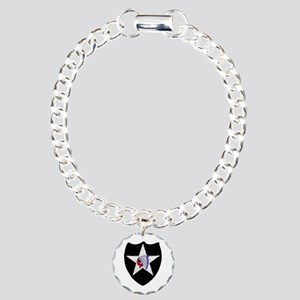 2nd INFANTRY DIVISION Charm Bracelet, One Charm