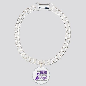 Alzheimers Hero Now My A Charm Bracelet, One Charm