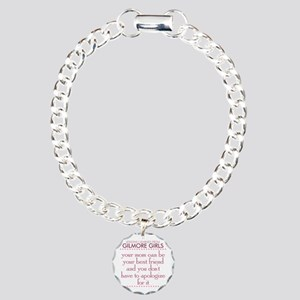 Mom Best Friend Charm Bracelet, One Charm