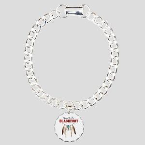 Blackfoot Indian Charm Bracelets - CafePress