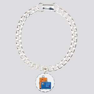 Shared Baggage Charm Bracelet, One Charm
