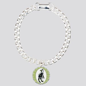Wizard of Oz Scarecrow Charm Bracelet, One Charm