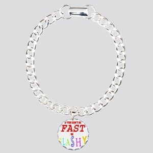 FASTFLASH copy Charm Bracelet, One Charm