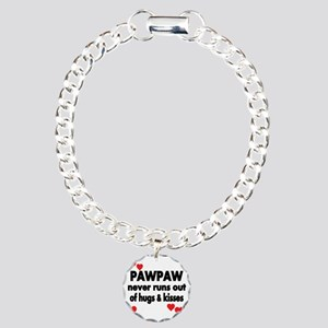 PAWPAW  NEVER RUNS  OUT  Charm Bracelet, One Charm