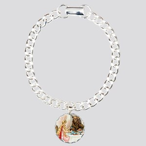 Fairy Tale Collection: B Charm Bracelet, One Charm