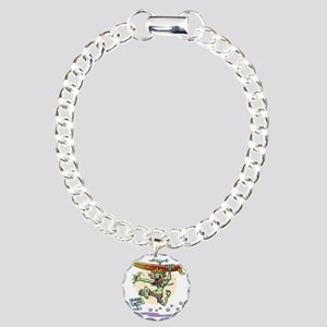 surf-monster-T Charm Bracelet, One Charm