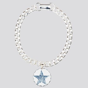 Running Star Charm Bracelet, One Charm