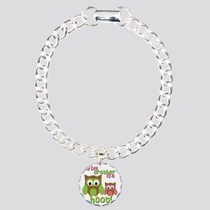 My Big Brother Is A Hoot Charm Bracelet, One Charm