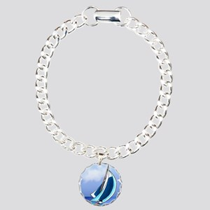 Sailing Away Charm Bracelet, One Charm
