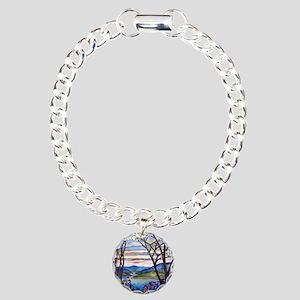 34ff6b7f7 Frank Memorial Window Charm Bracelet, One Charm