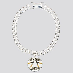 Only Strippers Charm Bracelet, One Charm