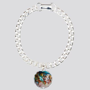 three spirits Charm Bracelet, One Charm
