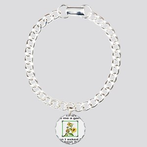 BFF GOD GAVE ME YOU Charm Bracelet, One Charm